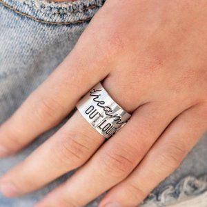 Dream Louder - silver ring